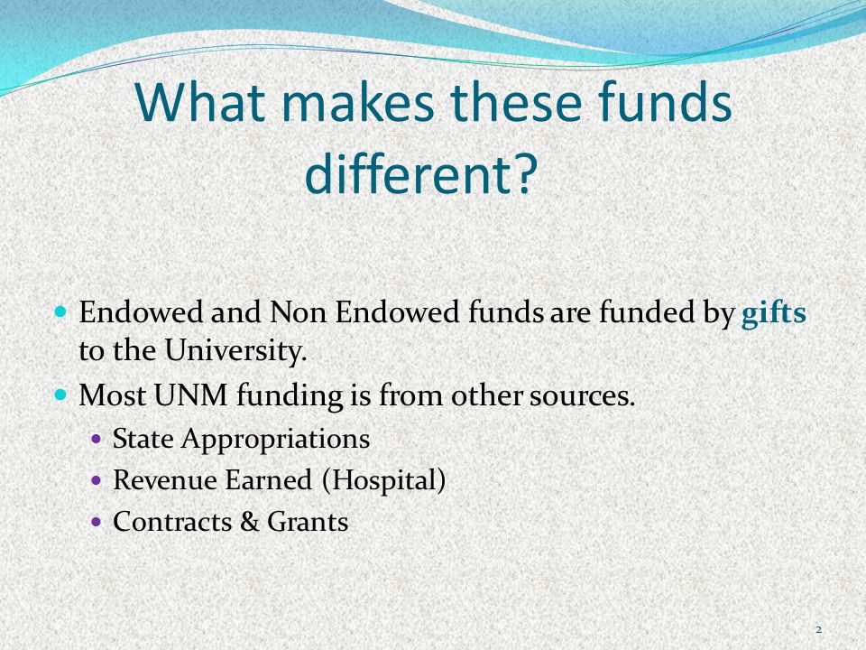 What makes these funds different.