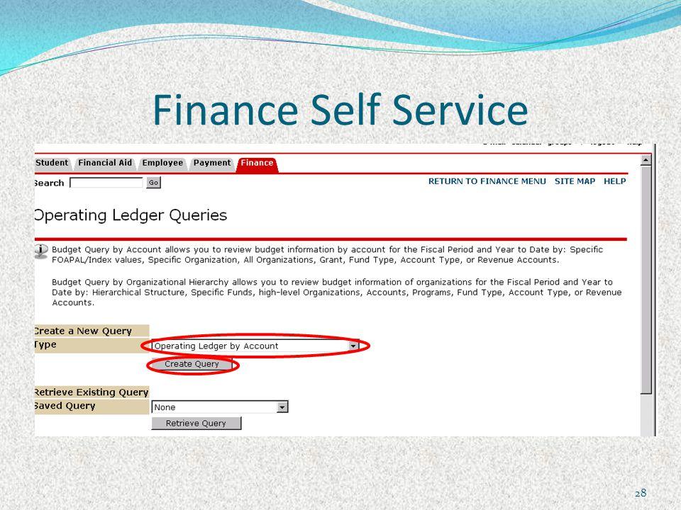 Finance Self Service 28