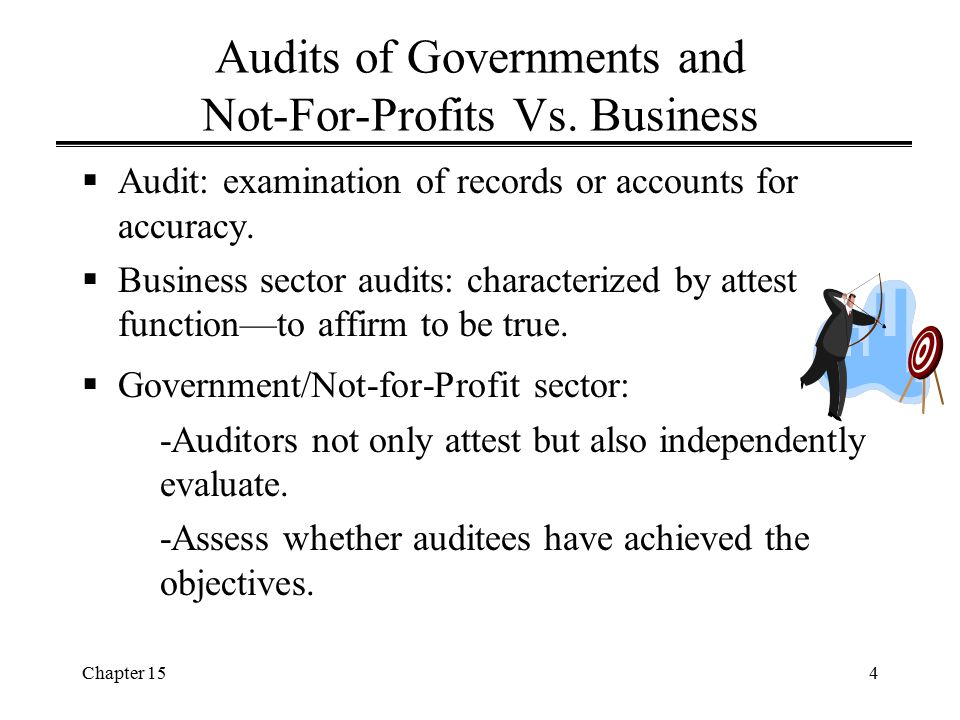 Chapter 1525 Single Audit Act (cont'd) Q: Who has to have an audit under GAGAS.