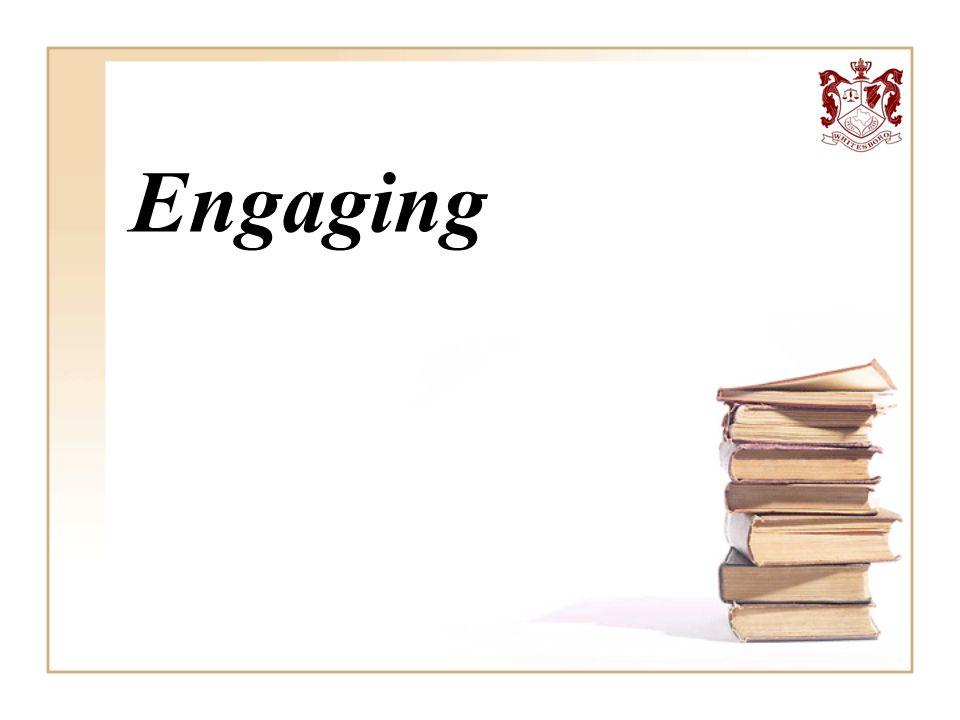 Engaging