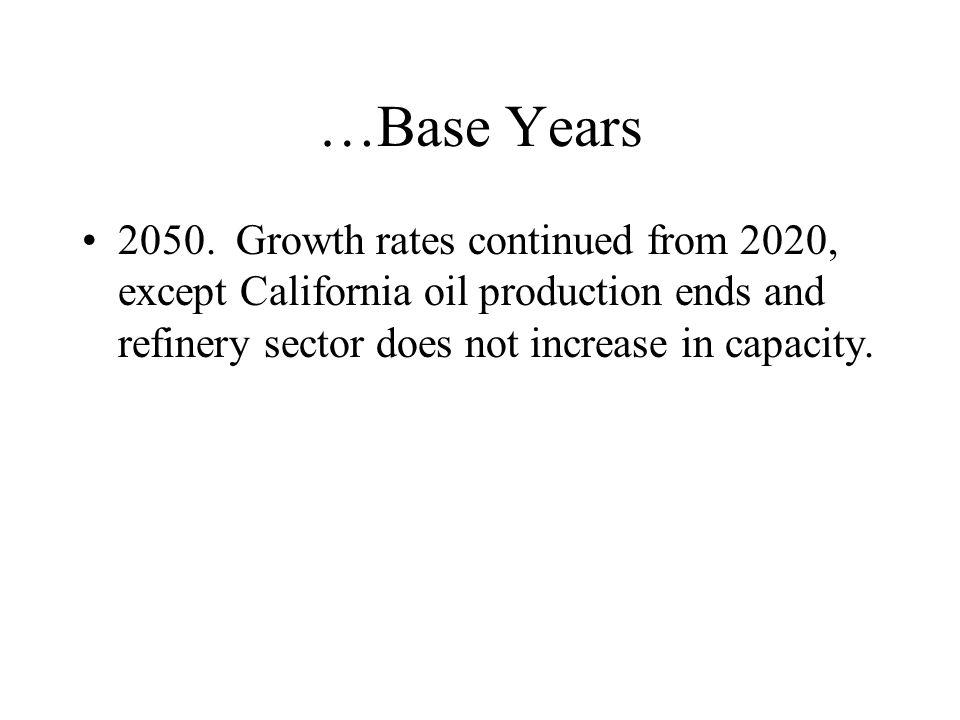 …Base Years 2050.