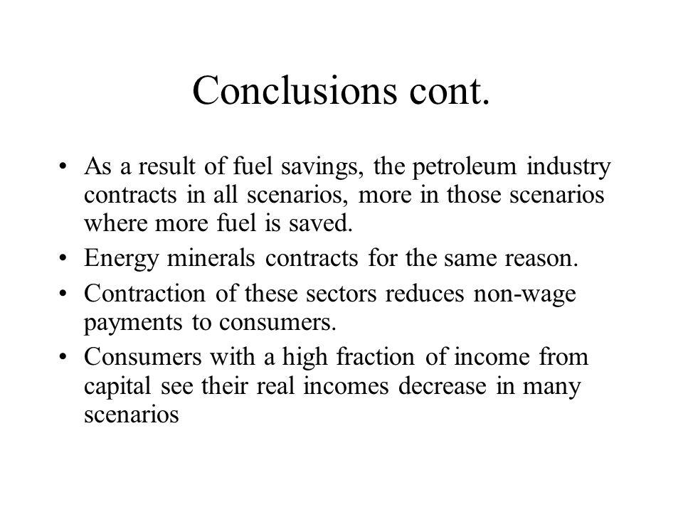 Conclusions cont.