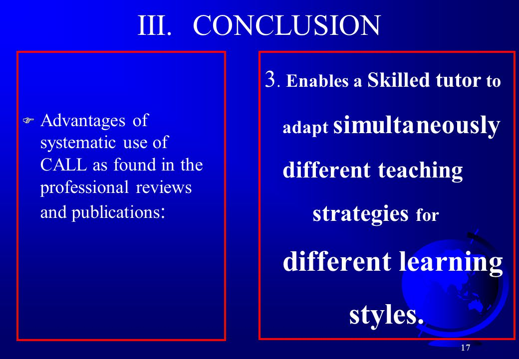 17 III. CONCLUSION 3.