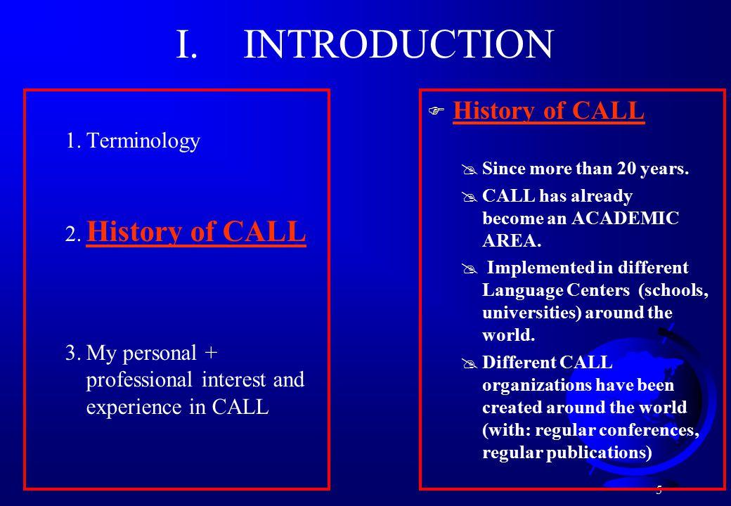 5 1.Terminology 2.
