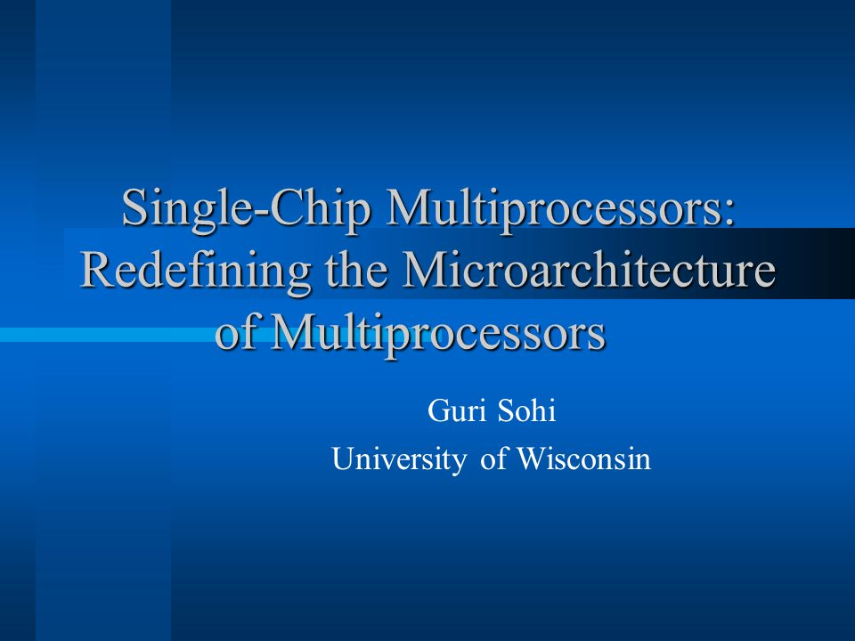 2 Outline Waves of innovation in architecture Innovation in uniprocessors Opportunities for innovation Example CMP innovations  Parallel processing models  CMP memory hierarcies