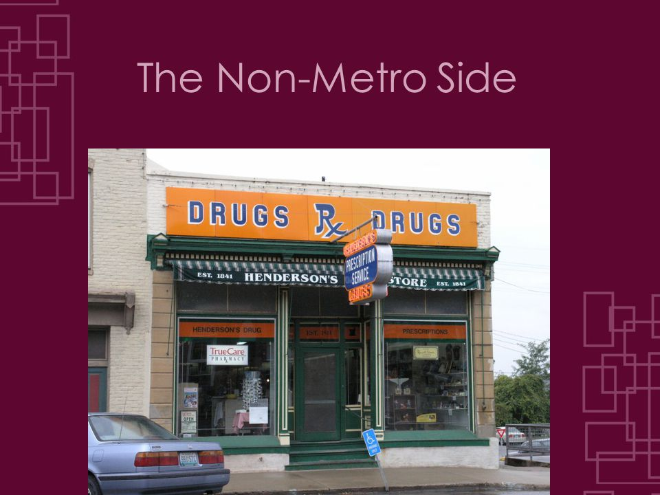 The Non-Metro Side