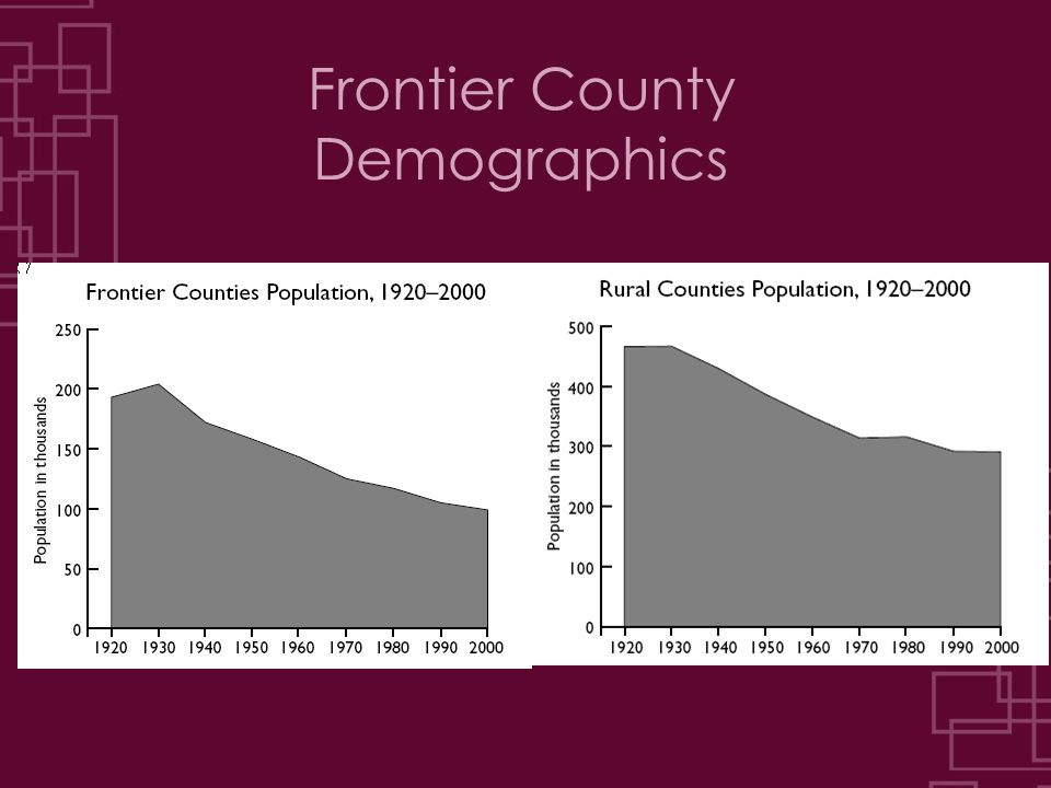 Frontier County Demographics
