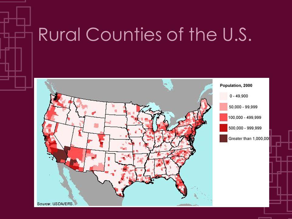 Rural Counties of the U.S.