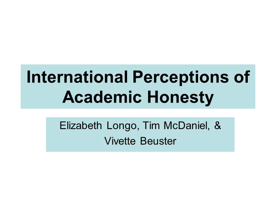 Session Objectives Explain international student attitudes Explore similarities & differences Aligning teacher-student expectations