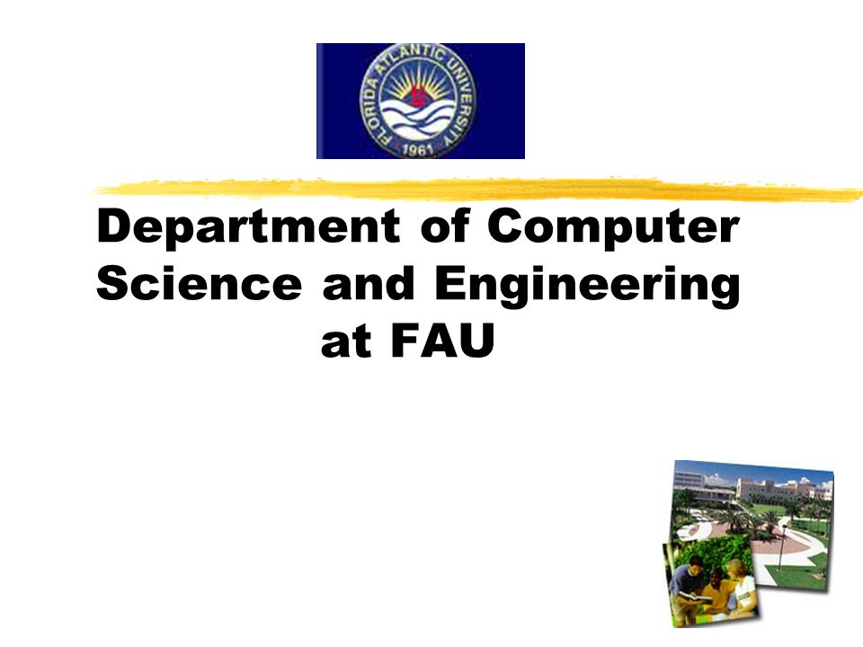 Department of Computer Science and Engineering at FAU