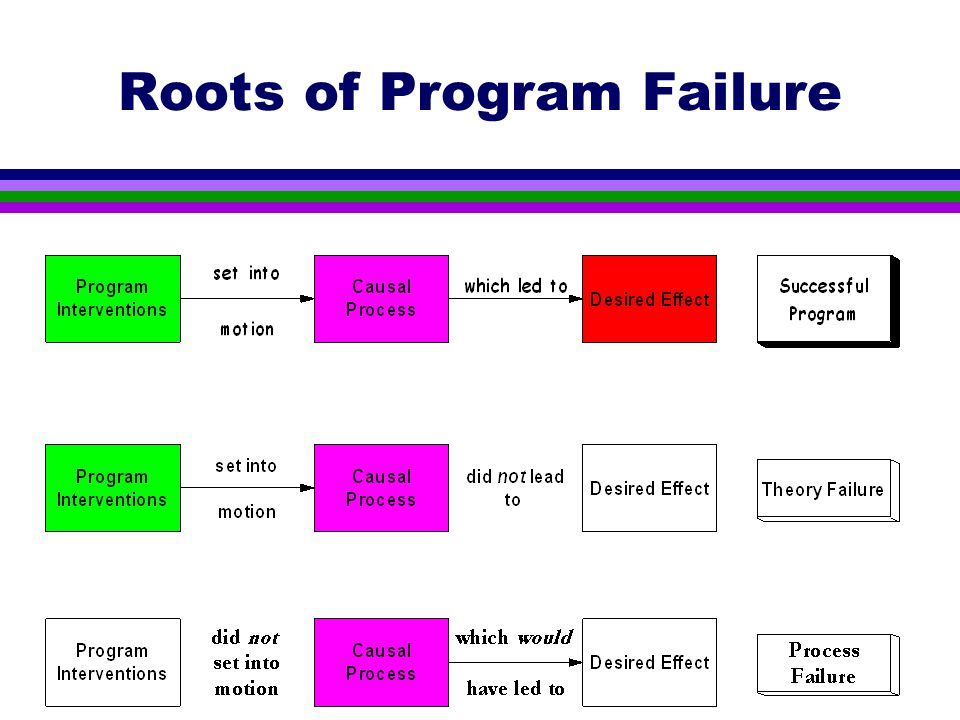 Roots of Program Failure