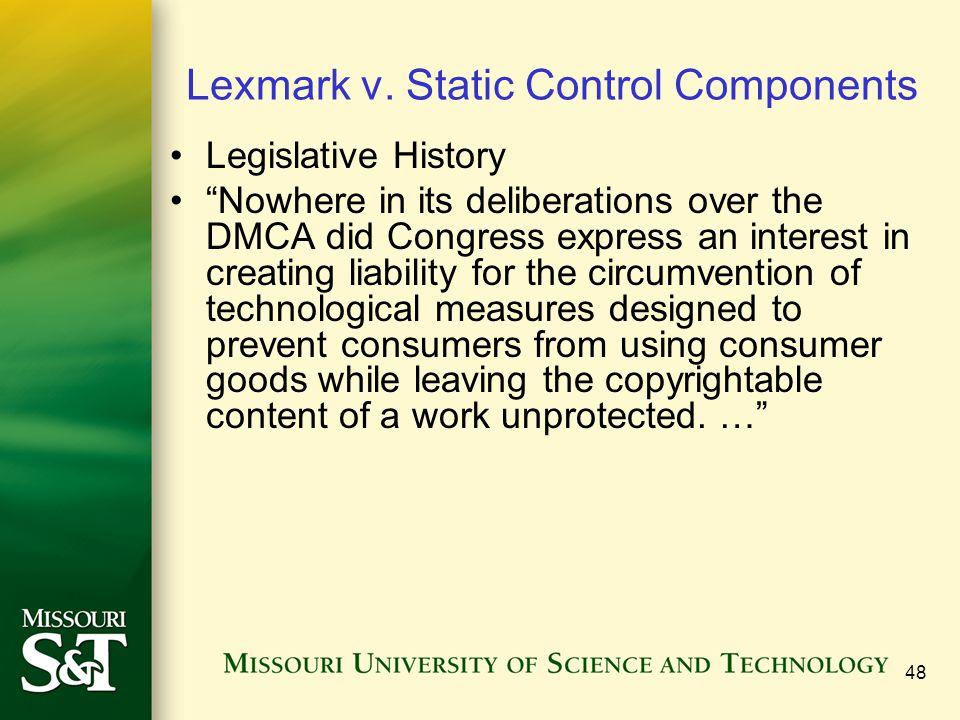 48 Lexmark v.