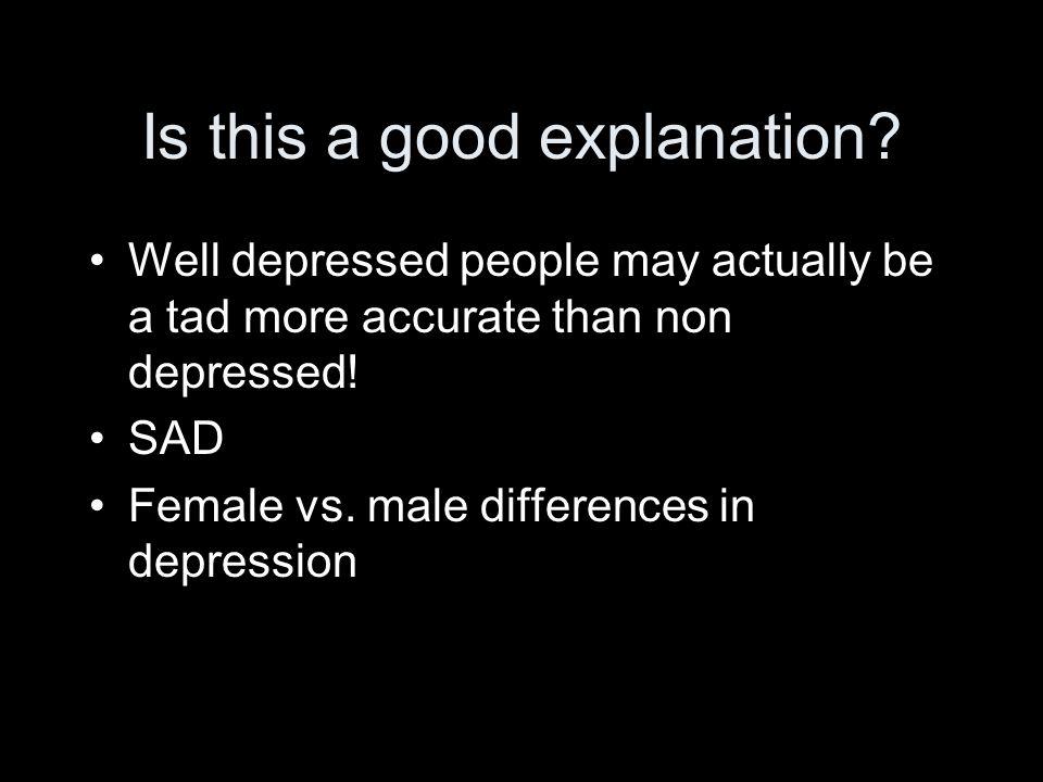 Why is depression so common.EEA vs.