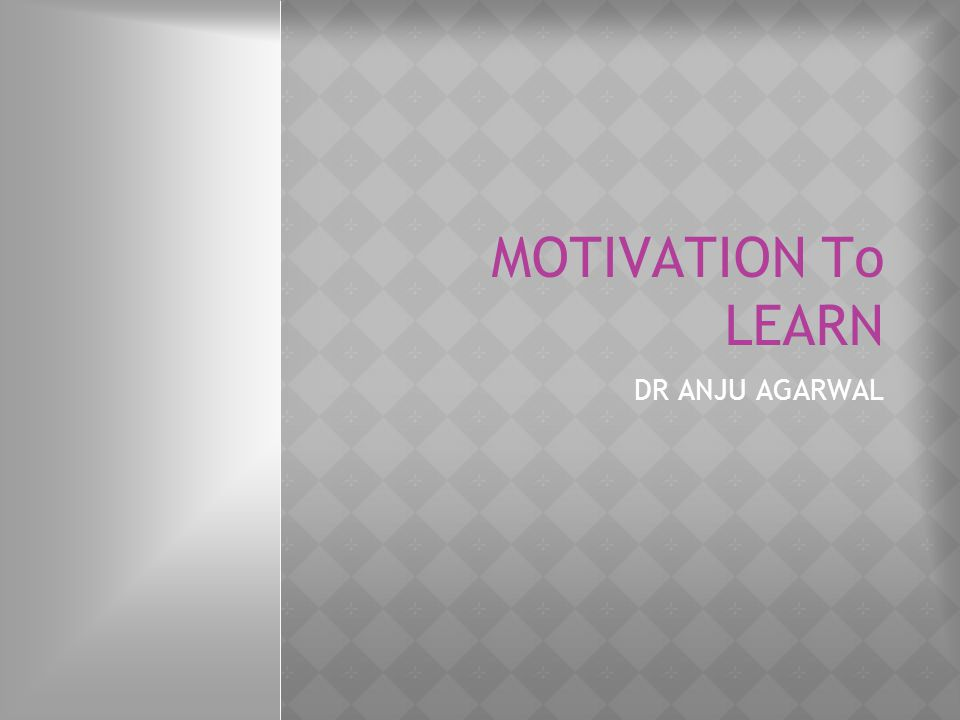  Provide choices Students can have increased motivation when they feel some sense of autonomy in the learning process, and motivation declines when students have no voice in the class structure.