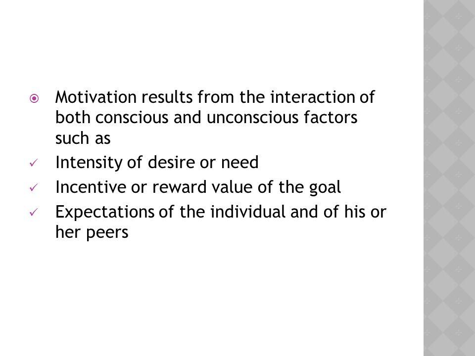  Motivation affects cognitive processes.