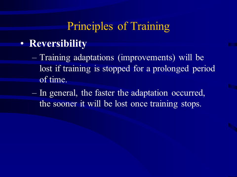 Principles of Training Progression – Sedentary but low risk  Table 7-1, Page 149 –Initial Stage – 4 wks.
