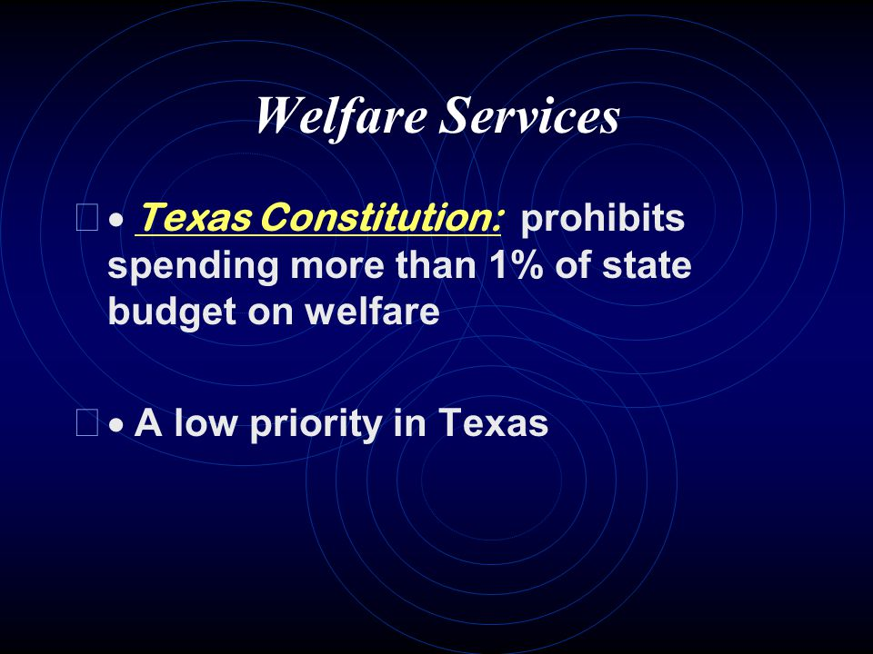 UNEMPLOYMENT PROGRAMS (Tx.