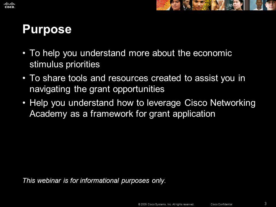 3 © 2009 Cisco Systems, Inc.