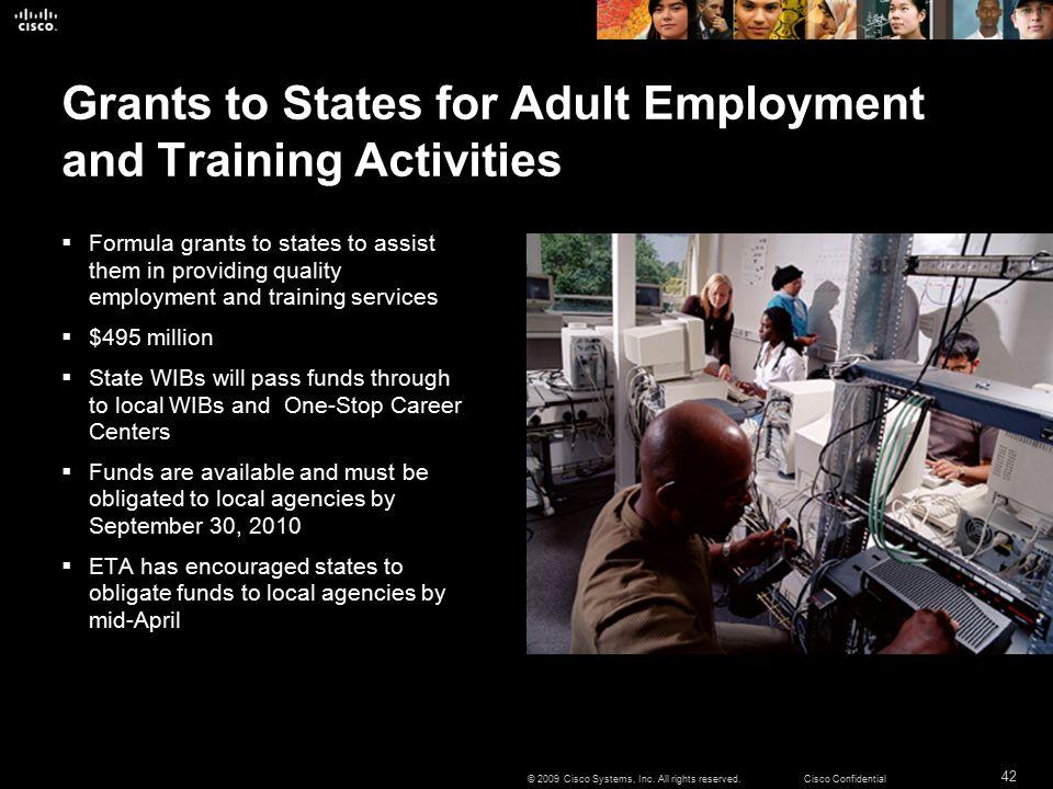 42 © 2009 Cisco Systems, Inc.
