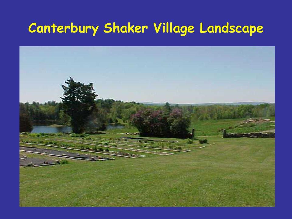 Canterbury Shaker Village Landscape
