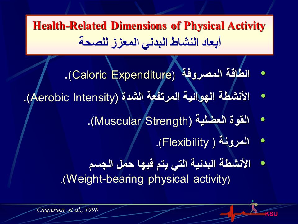 KSU Energy Expenditure during Physical Activity!