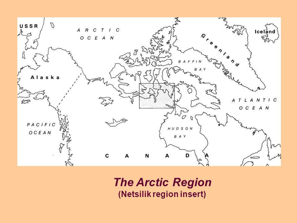 The Arctic Region (Netsilik region insert)