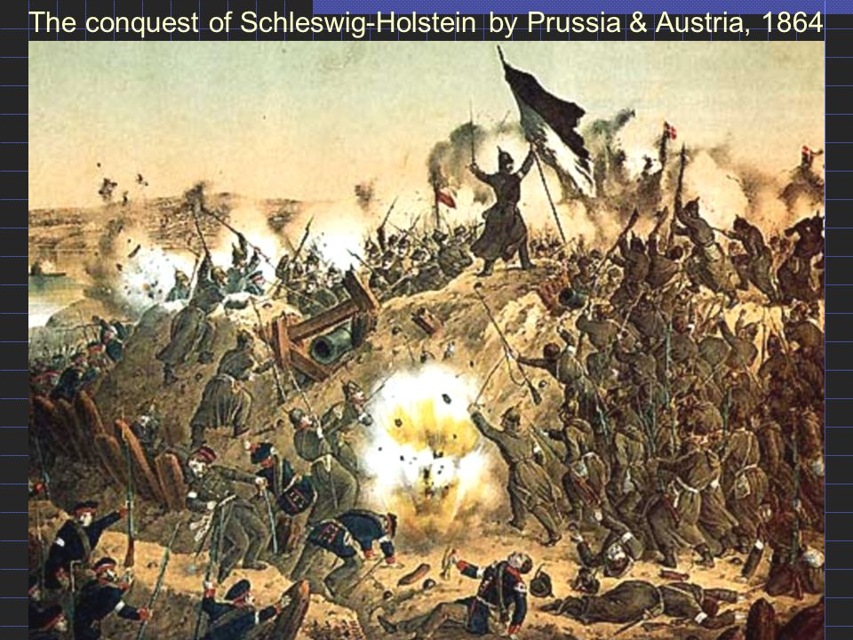 The conquest of Schleswig-Holstein by Prussia & Austria, 1864