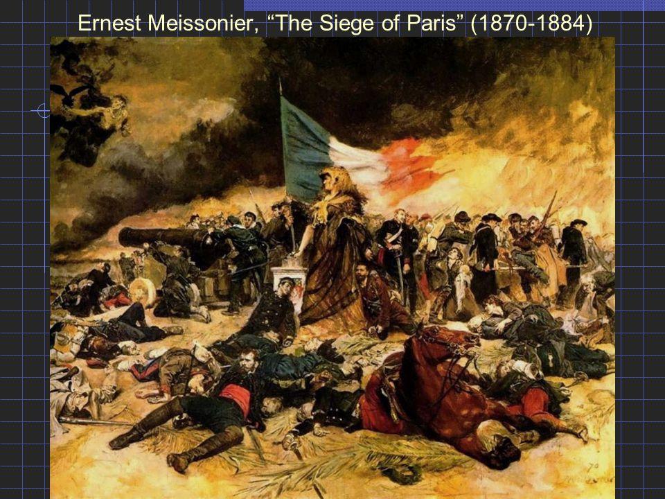 Ernest Meissonier, The Siege of Paris (1870-1884)