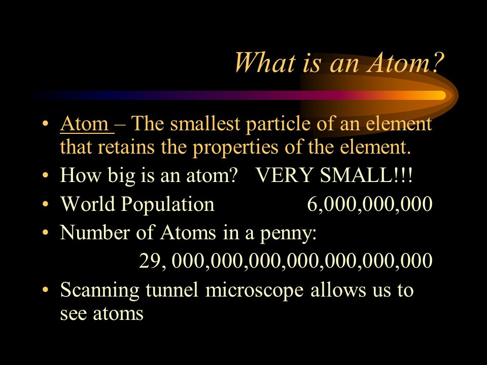 Introduction to the Atom Atomic structure vocab: a review.