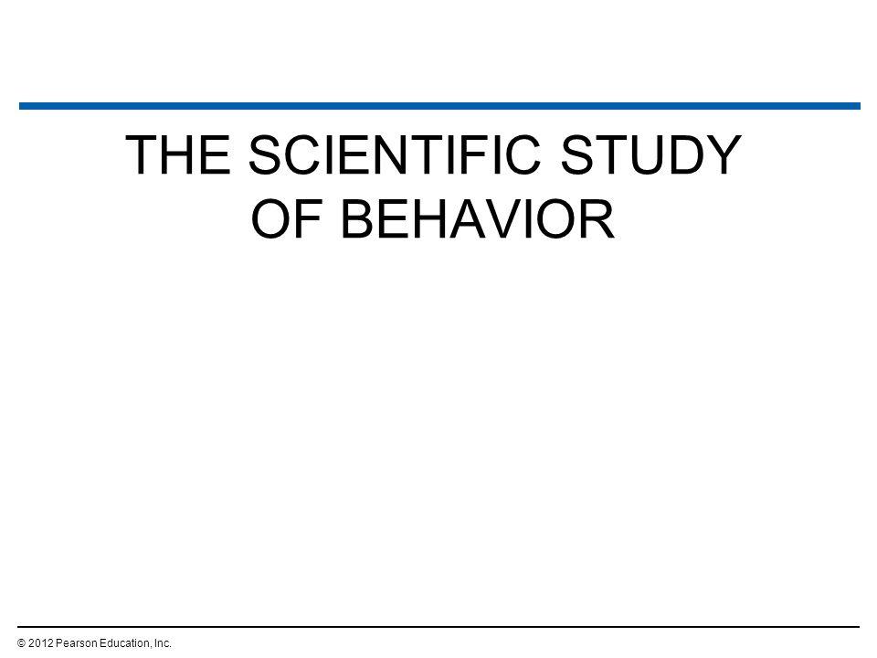 LEARNING © 2012 Pearson Education, Inc.