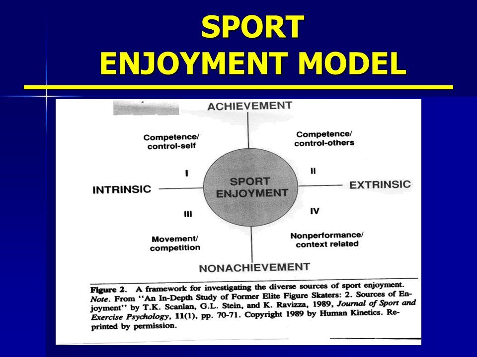 SPORT ENJOYMENT MODEL