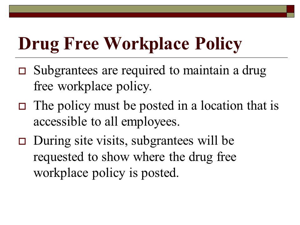 Standard Assurances  Drug Free Work Place  Debarment