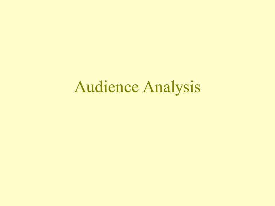 Good public speakers are audience- centered.