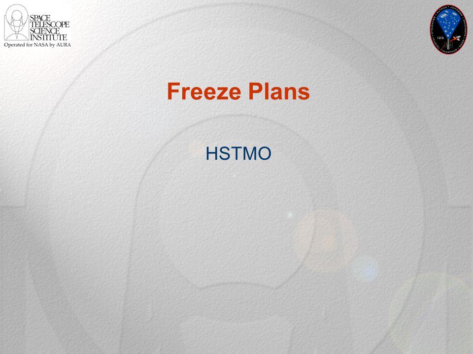 Freeze Plans HSTMO