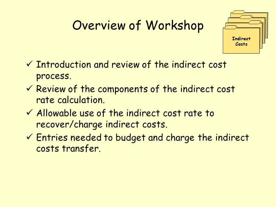 Introduction LEA costs can be categorized as Direct or Indirect.