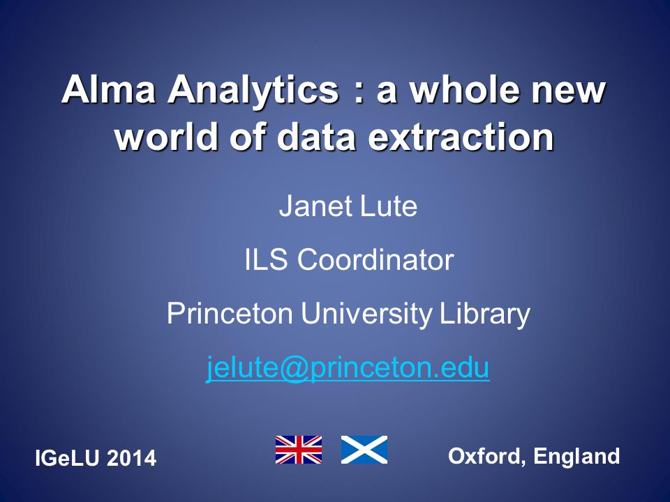 Questions or Comments jelute@princeton.edu Copy of this presentation will be made available through IGeLU