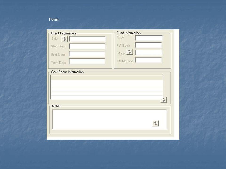 Form: