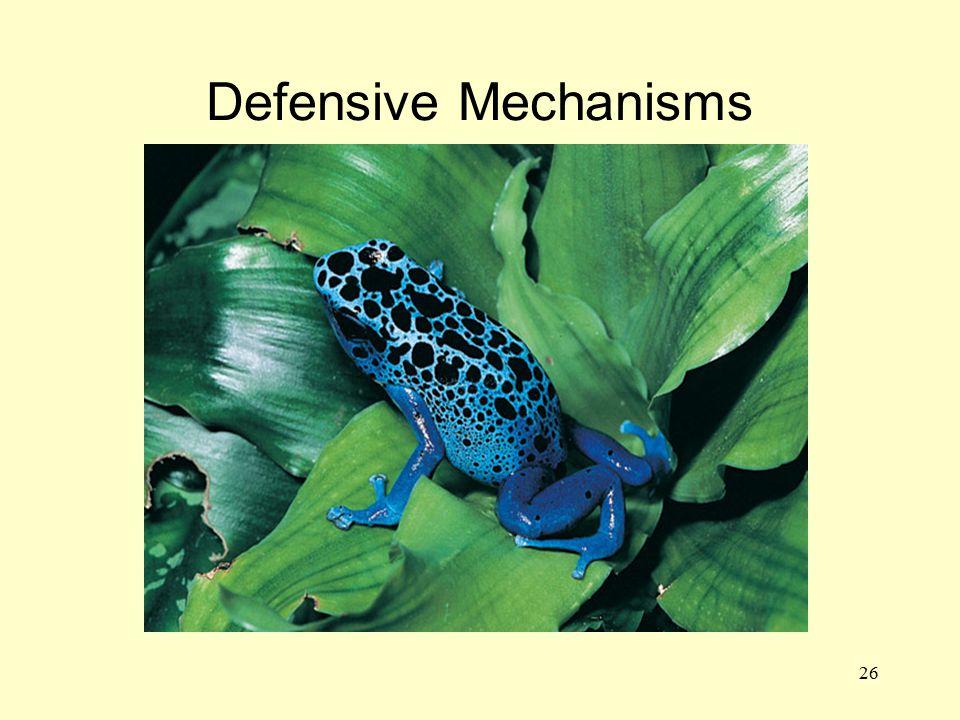 26 Defensive Mechanisms