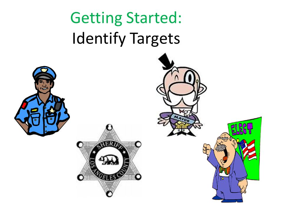 Getting Started: Identify Targets