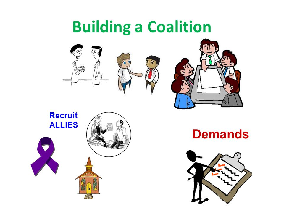 Building a Coalition Demands Recruit ALLIES
