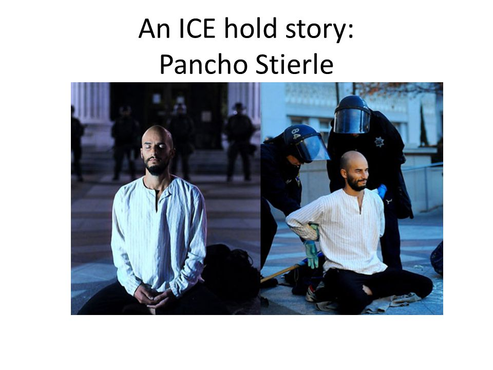 An ICE hold story: Pancho Stierle