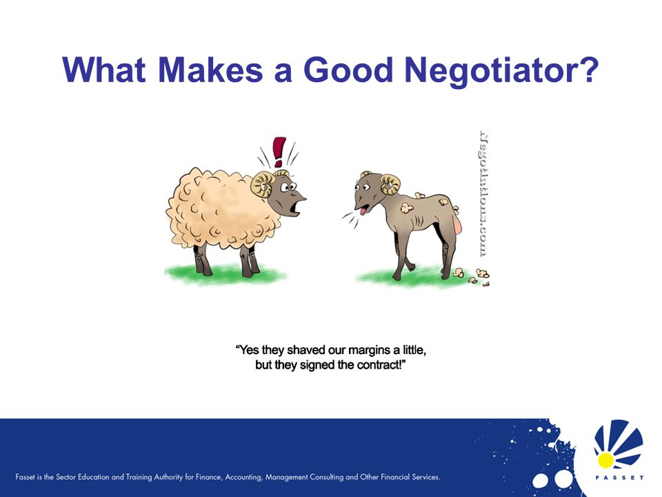 What Makes a Good Negotiator?