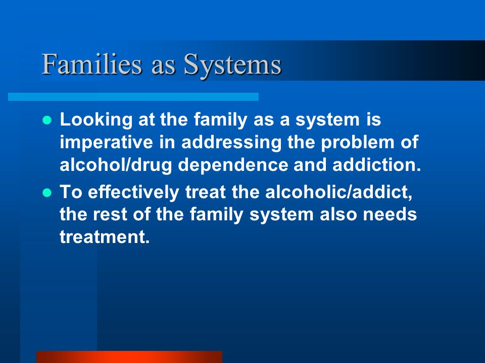 Chapter Objectives Identify and describe the survival roles in an alcohol/addict and imbalanced family system (Wegscheider-Cruse model). Define enabli