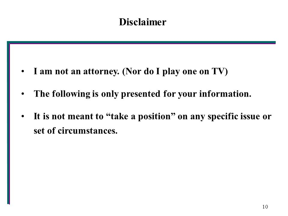 Disclaimer I am not an attorney.