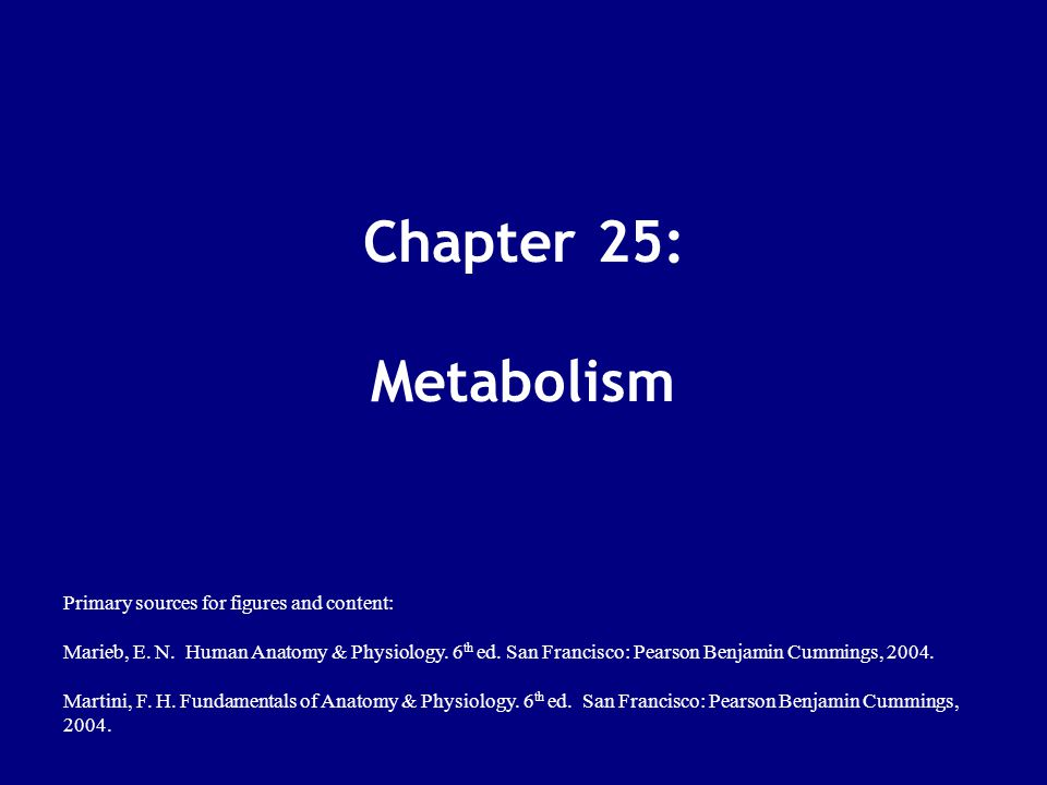 Metabolism Digestion + Absorption by GI  monomers (building blocks) for ATP or biomolecule synthesis Metabolism = sum of all chemical reactions in the body