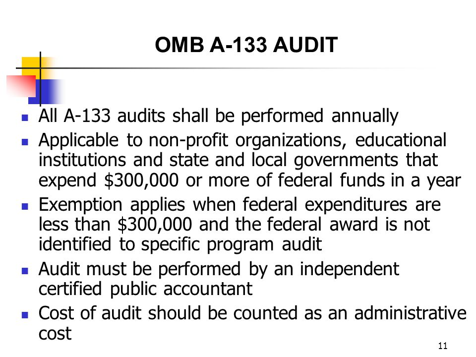 10 OFFICE OF MANAGEMENT AND BUDGET (OMB) CIRCULARS APPLICABLE TO STATE AND LOCAL GOVERNMENT ENTITIES 45 CFR 2541 Grant and Cooperative Agreements to State and Local Governments OMB Circular No.