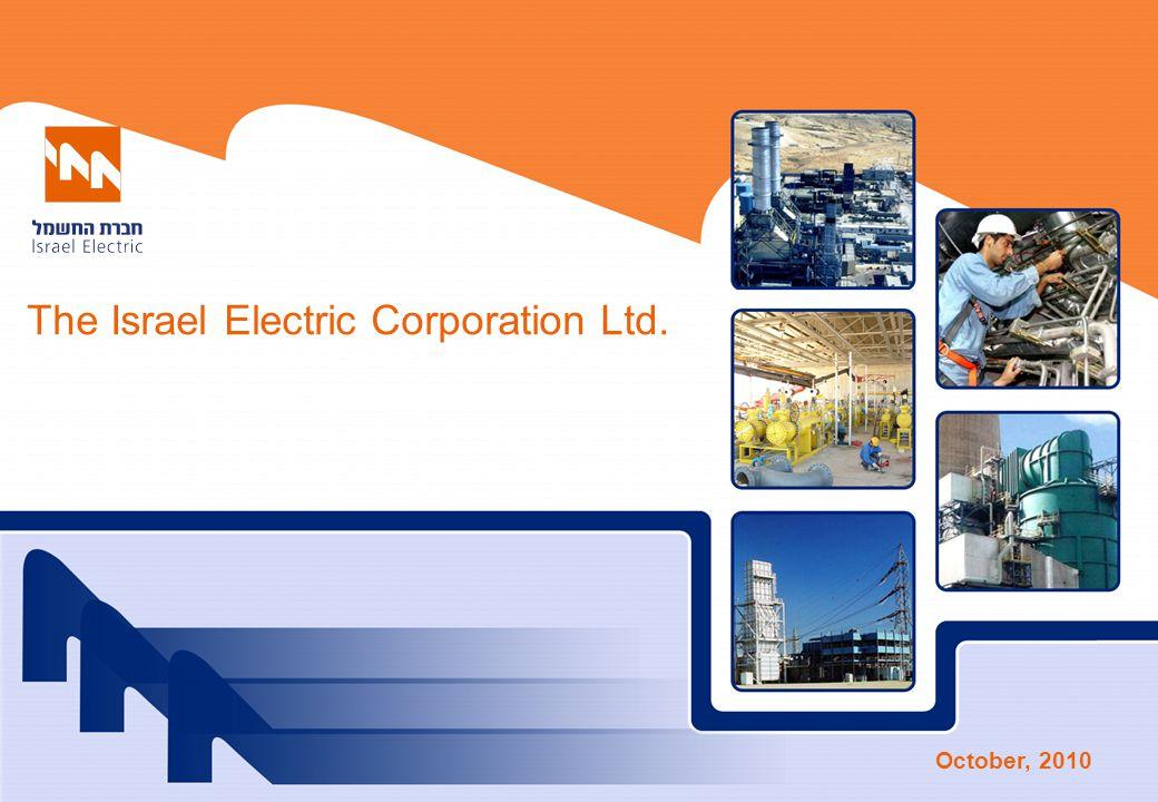 The Israel Electric Corporation Ltd. October, 2010