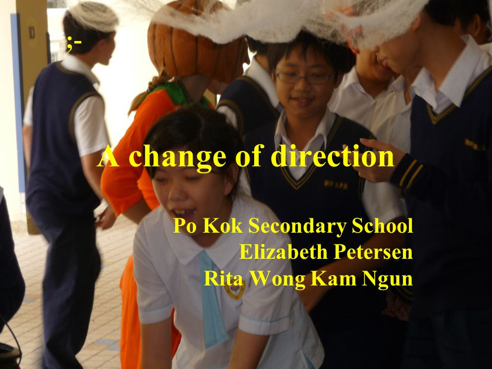 The difficulties the school faced were;- English is the lingua franca of the world.