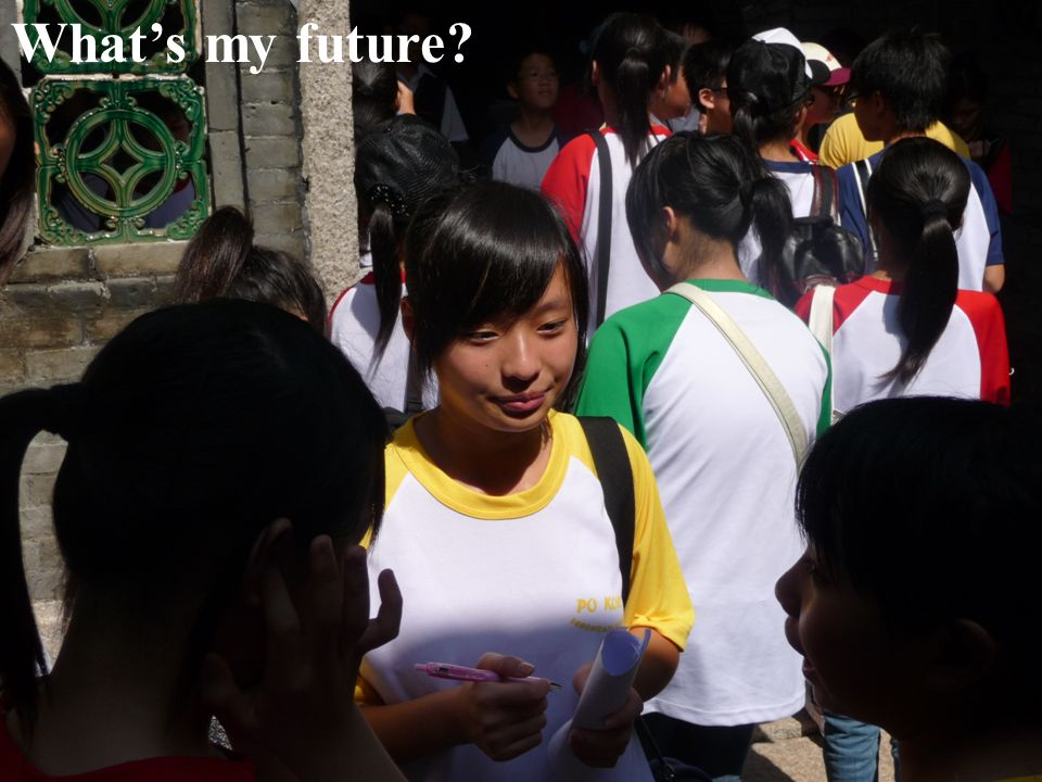 What's my future?