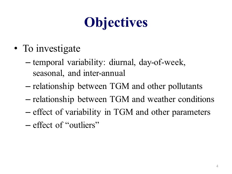 TGM and NOx 15 Not all by out of phase in hour-of-day Large variability in both compounds Low TGM when NOx high